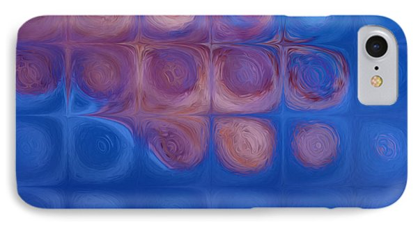 Circles In Squares IPhone Case by Jack Zulli