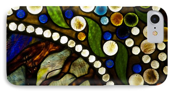 Circles Of Glass Phone Case by Christi Kraft