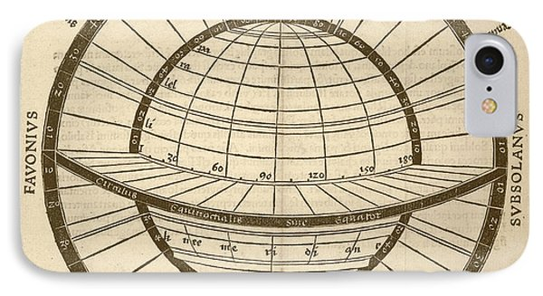 Circles On Earth Globe IPhone Case