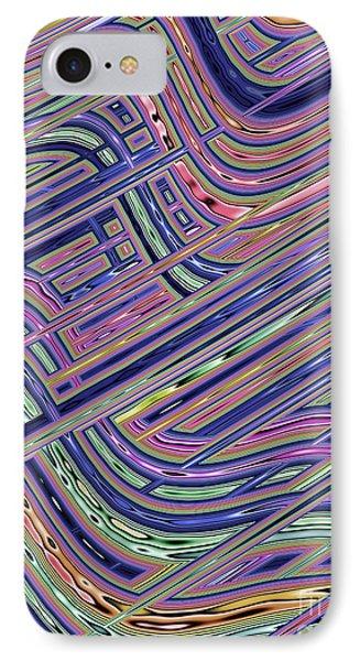 Circuit IPhone Case by John Edwards