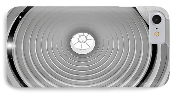 Circular Dome IPhone Case by Lawrence Boothby