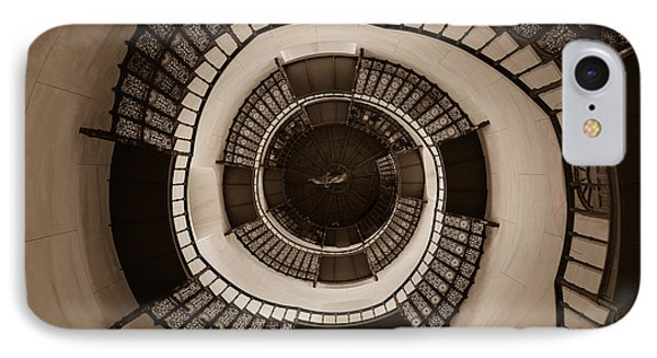 Circular Staircase In The Granitz Hunting Lodge Phone Case by Andreas Levi