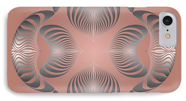 IPhone Case featuring the digital art Circularity No. 13 by Alan Bennington
