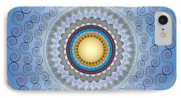 IPhone Case featuring the digital art Circularity No. 17 by Alan Bennington