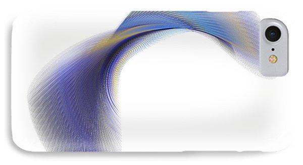 IPhone Case featuring the digital art Circularity No. 29 by Alan Bennington