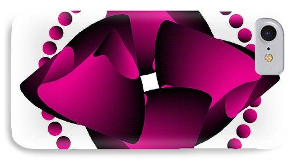 IPhone Case featuring the digital art Circularity No. 30 by Alan Bennington