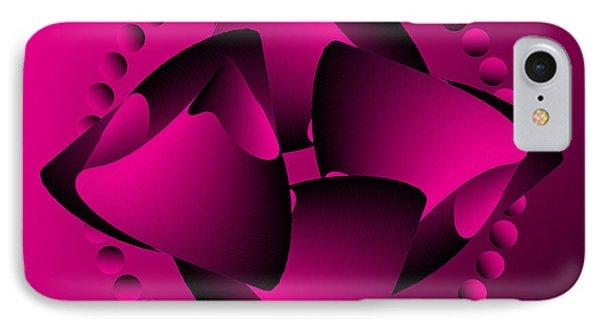 IPhone Case featuring the digital art Circularity No. 31 by Alan Bennington
