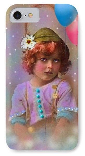 Circus Pixie Phone Case by Karen Morley