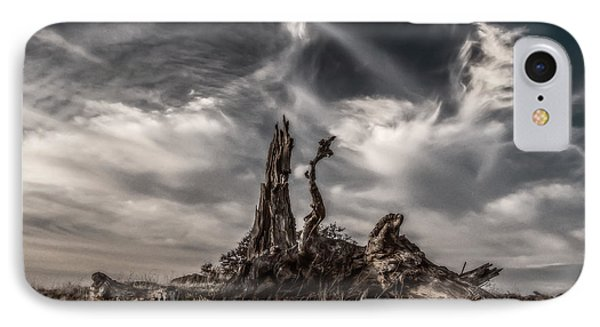 Cirrus Clouds At Sunset  Phone Case by Marc Crumpler