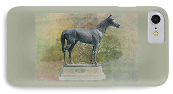 Citation Thoroughbred IPhone Case by Rudy Umans