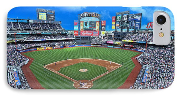 Citi Field IPhone Case by Allen Beatty