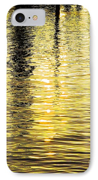 Citrine Ripples Phone Case by Chris Anderson
