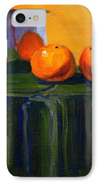 Citrus Chrome IPhone Case by Nancy Merkle