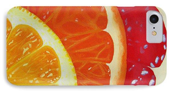 Citrus Hue Phone Case by Kayleigh Semeniuk