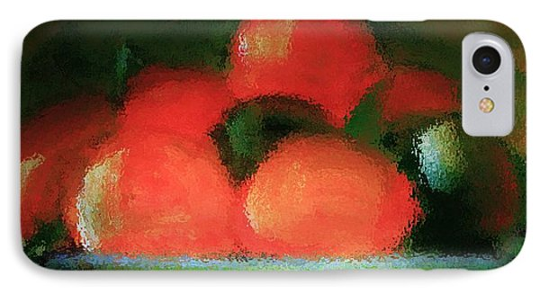 Citrus In Pottery Bowl IPhone Case by Lisa Kaiser