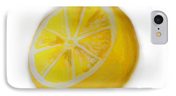IPhone Case featuring the painting Citrus by Marisela Mungia