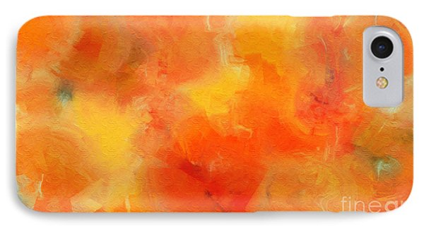 Citrus Passion - Abstract - Digital Painting Phone Case by Andee Design