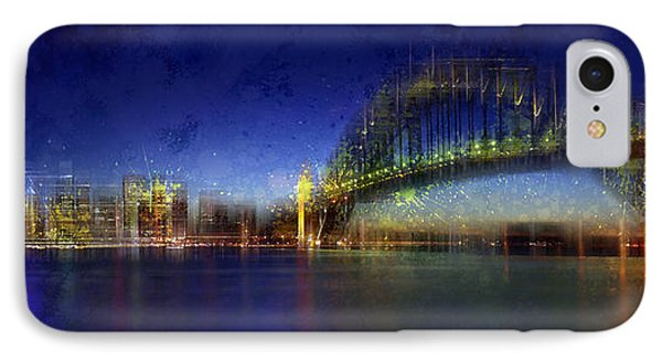 City-art Sydney IPhone Case by Melanie Viola