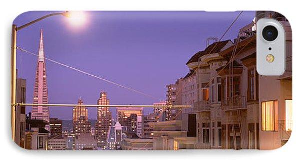 City At Night, San Francisco IPhone Case