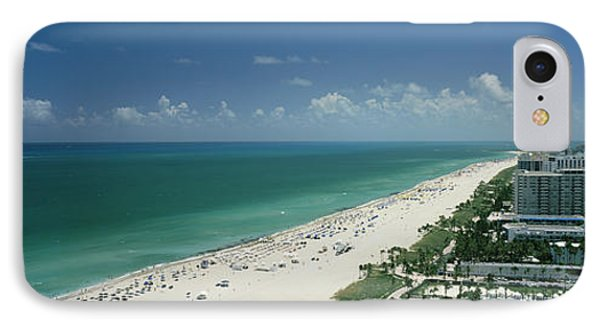 City At The Beachfront, South Beach IPhone Case