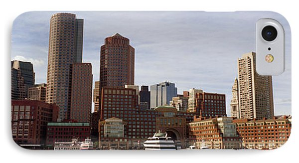 City At The Waterfront, Fan Pier IPhone Case by Panoramic Images