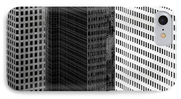 City Blocks IPhone Case by Dave Bowman