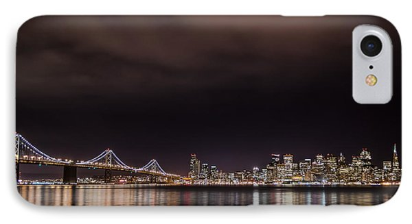City By The Bay IPhone Case by Linda Villers