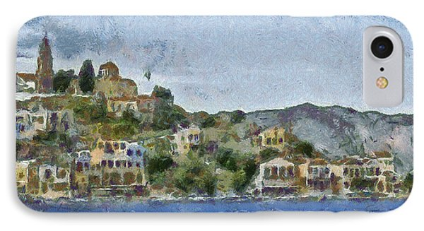 City By The Sea IPhone Case by Ayse Deniz