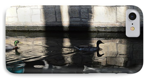 IPhone Case featuring the photograph City Ducks by Shawn Marlow