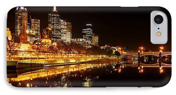 City Glow Phone Case by Andrew Paranavitana