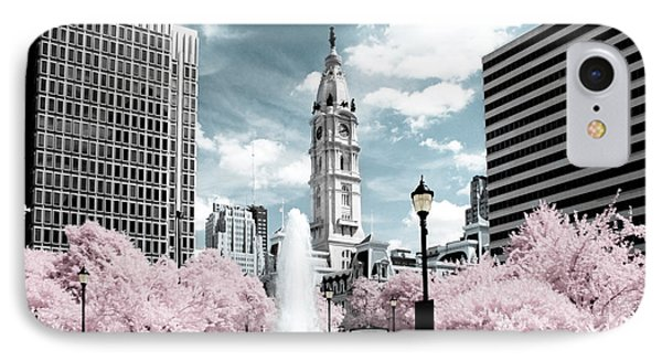 City Hall In Spring IPhone Case
