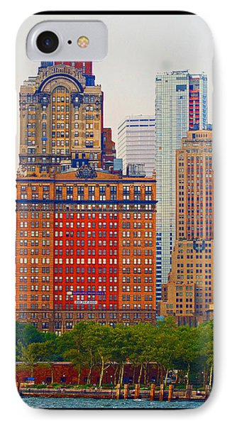 City High IPhone Case by B Wayne Mullins