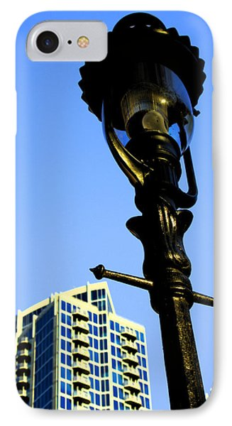 City Lamp Post Phone Case by Karol Livote