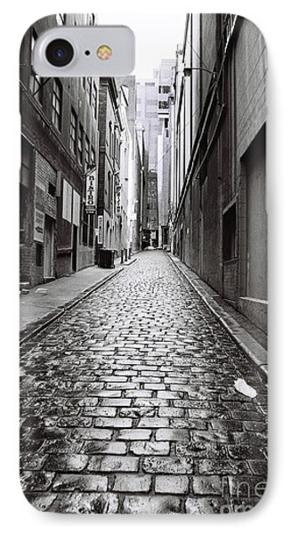 City Lane Melbourne IPhone Case by Linda Lees