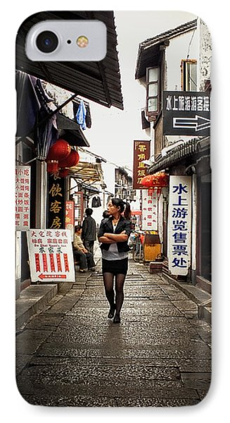 IPhone Case featuring the photograph City Life In Ancient China by Lucinda Walter