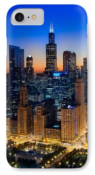 City Light Chicago IPhone Case by Steve Gadomski