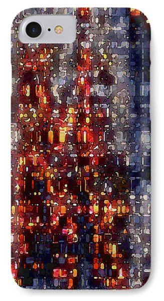 City Lights IPhone Case by David Hansen