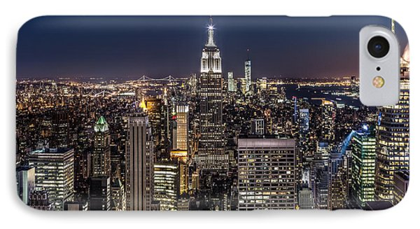 IPhone Case featuring the photograph City Lights by Mihai Andritoiu