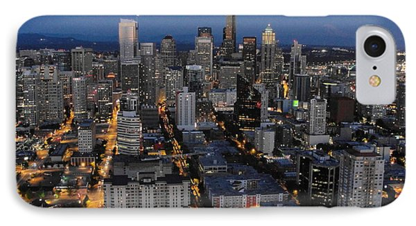 IPhone Case featuring the photograph City Lights by Natalie Ortiz