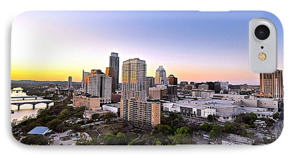 City Of Austin Texas Phone Case by Kristina Deane