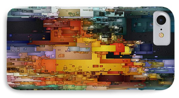 City Of Color 1 IPhone Case by David Hansen