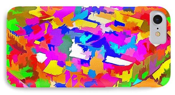 City Of Colours IPhone Case by Maciek Froncisz
