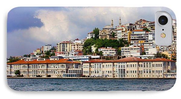 City Of Istanbul Cityscape Phone Case by Artur Bogacki