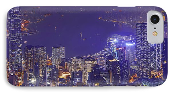 City Of Magic IPhone Case by Midori Chan