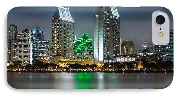 City Of San Diego Skyline 1 IPhone Case by Larry Marshall
