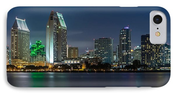 City Of San Diego Skyline 2 IPhone Case by Larry Marshall