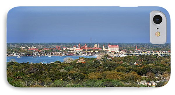 City Of St Augustine Florida IPhone Case by Christine Till