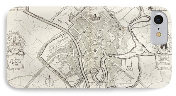 City Of York IPhone Case by British Library