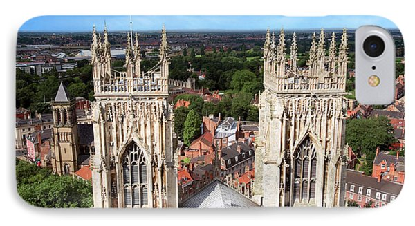 City Of York, York Minster, Cathedral IPhone Case