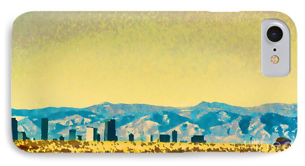 IPhone Case featuring the photograph City On The Plains by Catherine Fenner